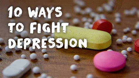 10 Ways To Fight Depression 10 ways to fight depression the second city