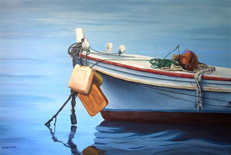 boat art boat saida zaher bizri lebanes artist art in lebanon