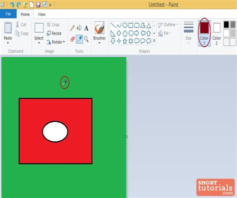 how to use color picker tool in ms paint windows 8