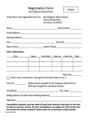 a printable registration form san dieguito adult school