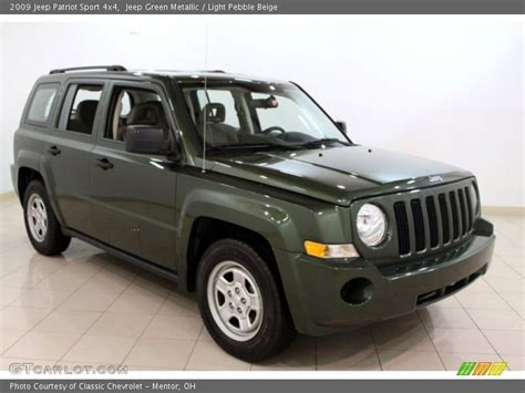 2009 Jeep Patriot Sport 2009 Jeep Patriot Sport 4x4 In Jeep Green Metallic Photo
