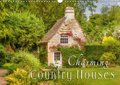 calendar charming country houses 2018