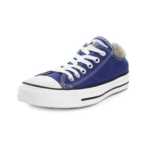 converse sneakers lyst converse chuck all oxford sneakers in blue