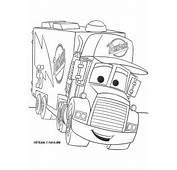 Ausmalbilder Malvorlagen Cars  Mack