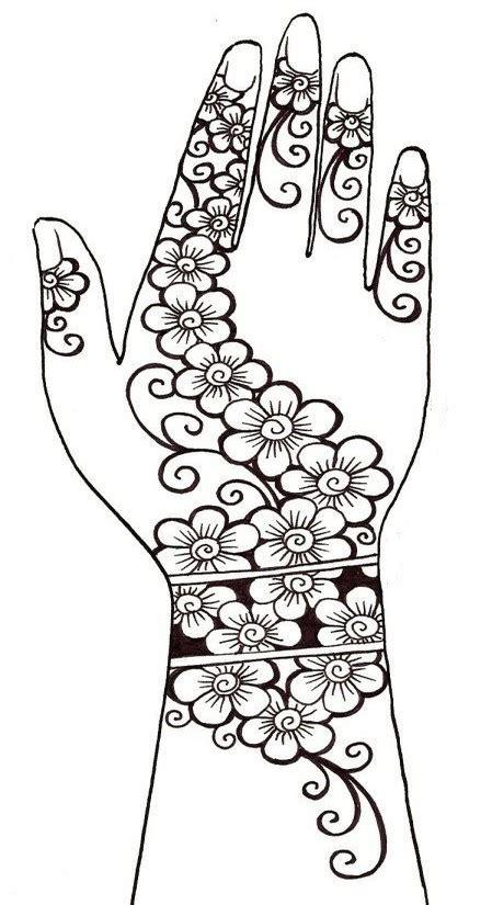 ausmalen erwachsene arabische welt henna tattoos 4