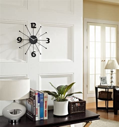 contemporary home decor decorating inexpensive decorative wall clocks for