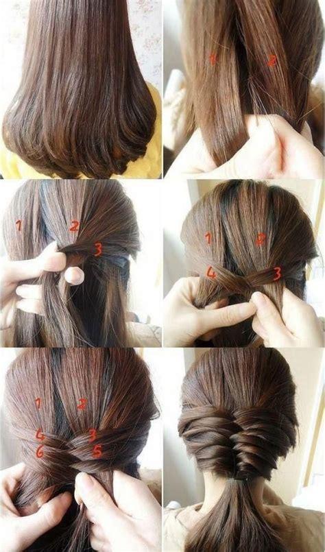 hairstyles buns step by step bun hair model step by step hair bun tutorial 2050485