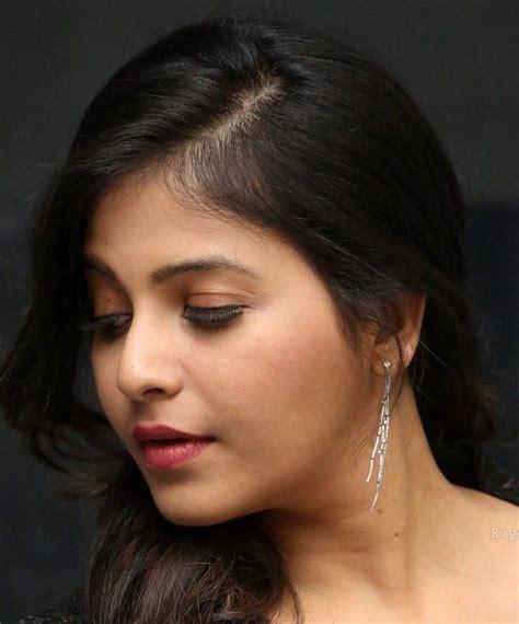 telugu actress face closeup telugu actress anjali cute face close up photos face