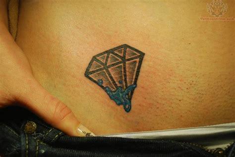 diamond tattoo on hip diamond tattoo on hip