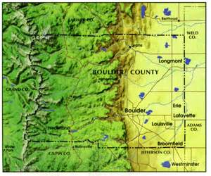 Boulder Colorado Map by Information About Boulder Colorado