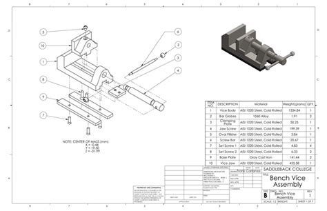 bench vice assembly bench vice assembly drawing pdf www pixshark com