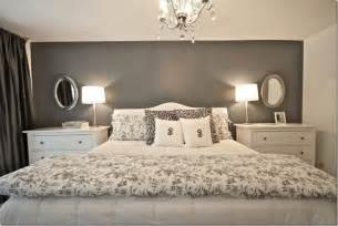 Grey Accent Wall by Gray Accent Wall Bedroom Ideas Pinterest