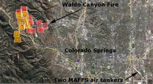 waldo colorado springs wildfire today