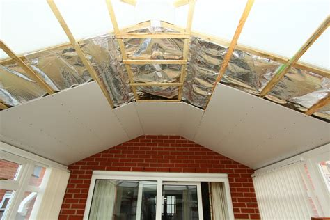 insulating conservatory roof