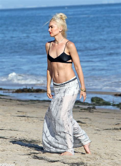 look gorgeous at 45 gwen stefani 45 these hot stars in bikinis prove age is