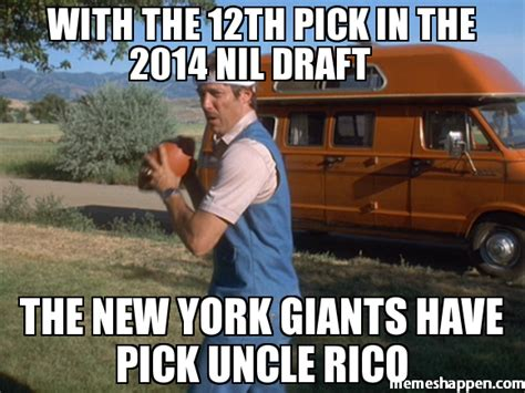 New Memes 2014 - with the 12th pick in the 2014 nil draft the new york