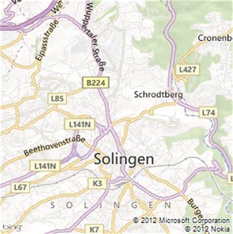 solingen map solingen map and solingen satellite image