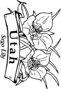 utah coloring pages collections
