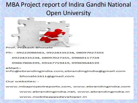 Mba Project Report On Employee Empowerment by Mba Project Report Of Indira Gandhi National Open