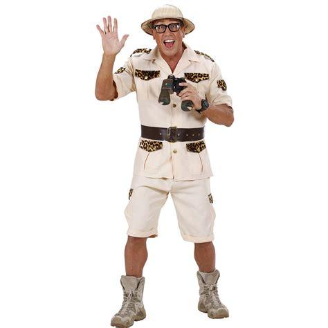 Syari Karnova safari costume jungle researcher jungle costume wilderness