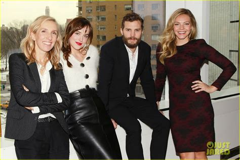 cast of fifty shades of grey interviews fifty shades of grey cast interviewed on today show