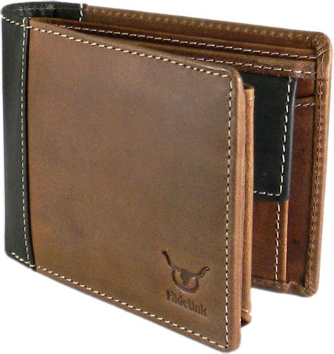 Wallet Brown hidelink formal brown genuine leather wallet brown