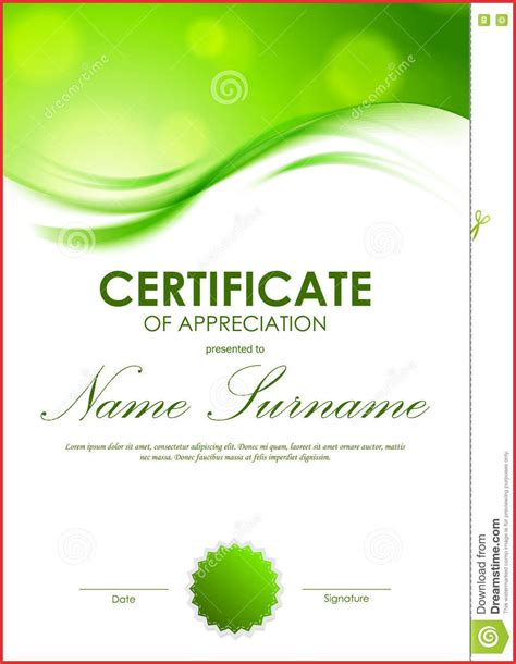 appreciation letter borders blank certificate of appreciation background designs