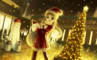 How To Comfort Your Girlfriend Anime Christmas Wallpaper Wallpapers9
