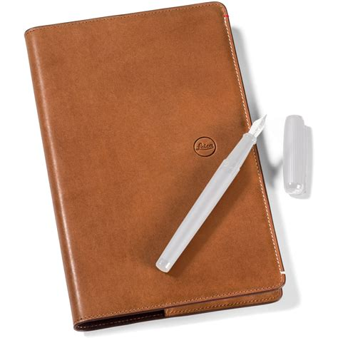 small leather notebook leica small leather goods collection notebook 96457 b h