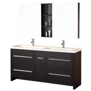 home depot design element vanity design element perfecta 72 in w x 20 in d vanity in