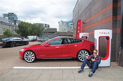 we drive the tesla supercharger superhighway auto express