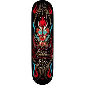 powell peralta caballero deck powell peralta steve caballero pinstripe black skateboard