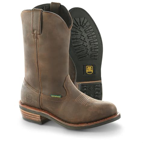 mens steel toe cowboy boots dan post s albuquerque waterproof steel toe cowboy