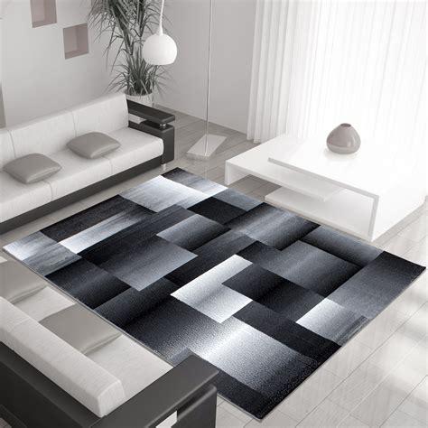 Tapis Design by Tapis Design Moderne Coloris Noir Chic