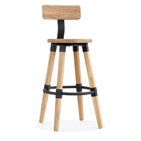 Bar Stool With Backrest Bastille Bar Stool With Backrest Cult Furniture