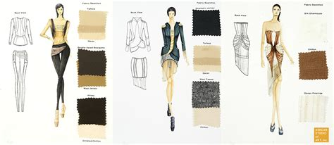 fashion design portfolio sles fit portfolio requirements ashcan studio of art