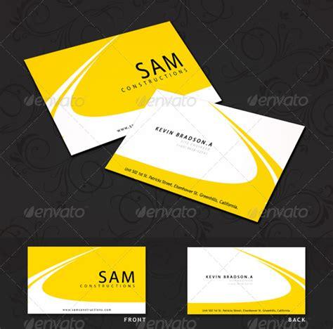 Construction Business Cards Ideas
