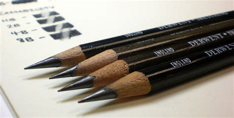 B Drawing Pencil by Derwent Sketching Pencils Hb 2b 4b And Wash 8b