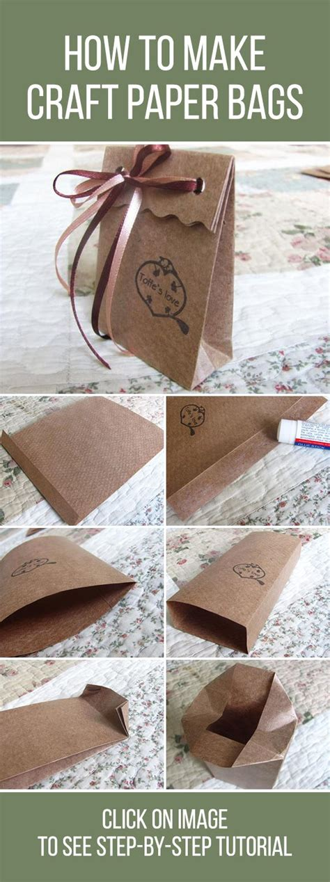 How To Make A Paper Bag Out Of Wrapping Paper - best 25 paper bags ideas on diy paper bag