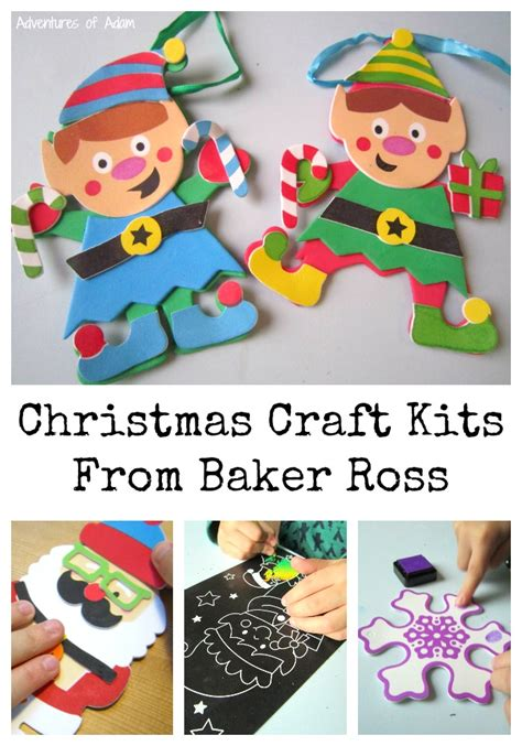 kids craft room with baker ross craft kits from baker ross