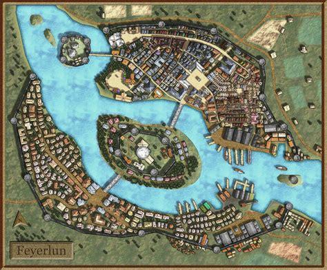 Castle Floor Plan Generator by Feyerlun Fantasy City Map By Avalpenworth On Deviantart