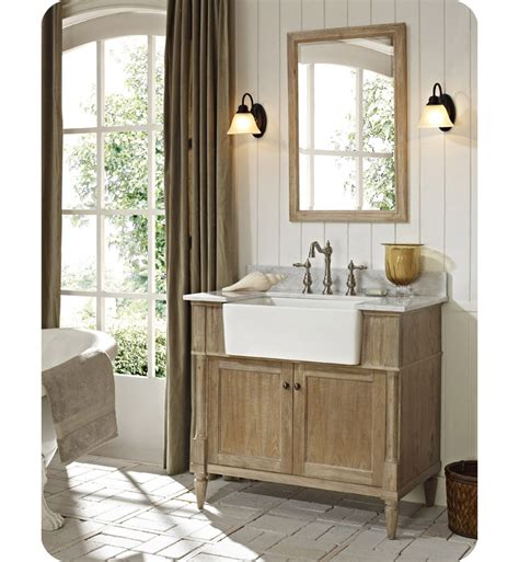 Rustic Modern Bathroom Vanities Fairmont Designs 142 Fv36 Rustic Chic 36 Quot Farmhouse Modern