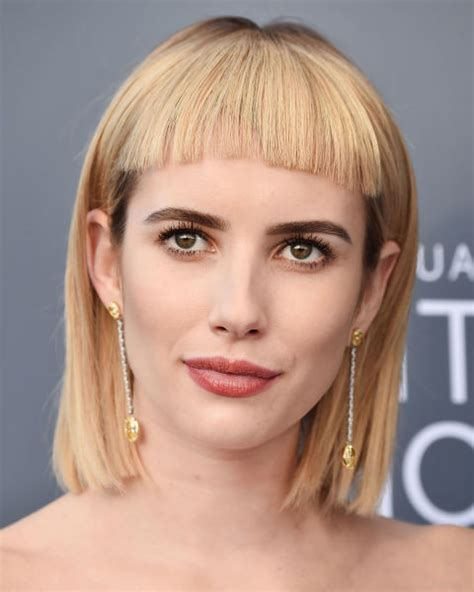 small forhead lob best fringe hairstyles for 2018 how to pull off a fringe
