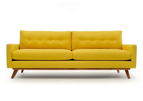 affordable mid century modern sofa yellow sofa ikea knopparp ikea 2 seater yellow couch with
