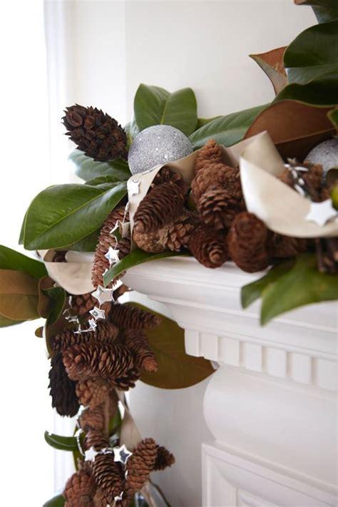 southern style holidays  beautiful magnolia decorations