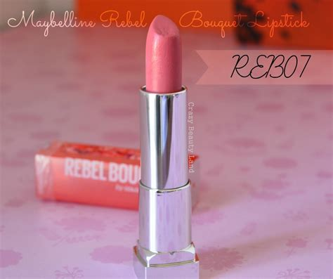 pretty color maybelline color sensational rebel bouquet lipstick in reb07 land