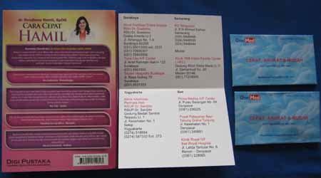 cara membuat cover buku secara online buku panduan dan tips cara cepat hamil dr rosdiana ramli