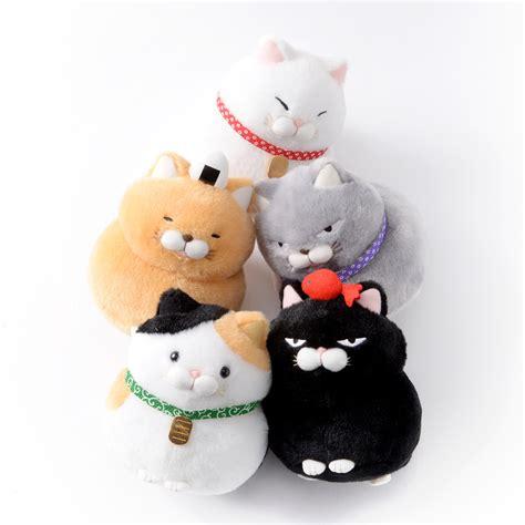 Hige Manjyu Diecut Cat Blankets hige manjyu wa cat plush collection standard tokyo