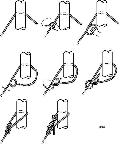 faire un noeud de chaise stage voile des cm2 233 cole les enfants du marais st