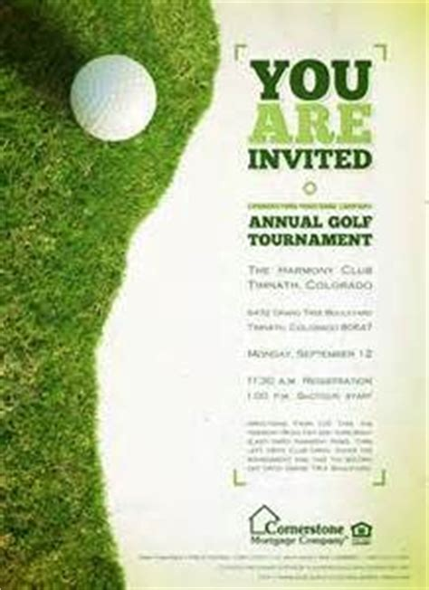 golf tournament flyer template golf tournament invitation template invitation template
